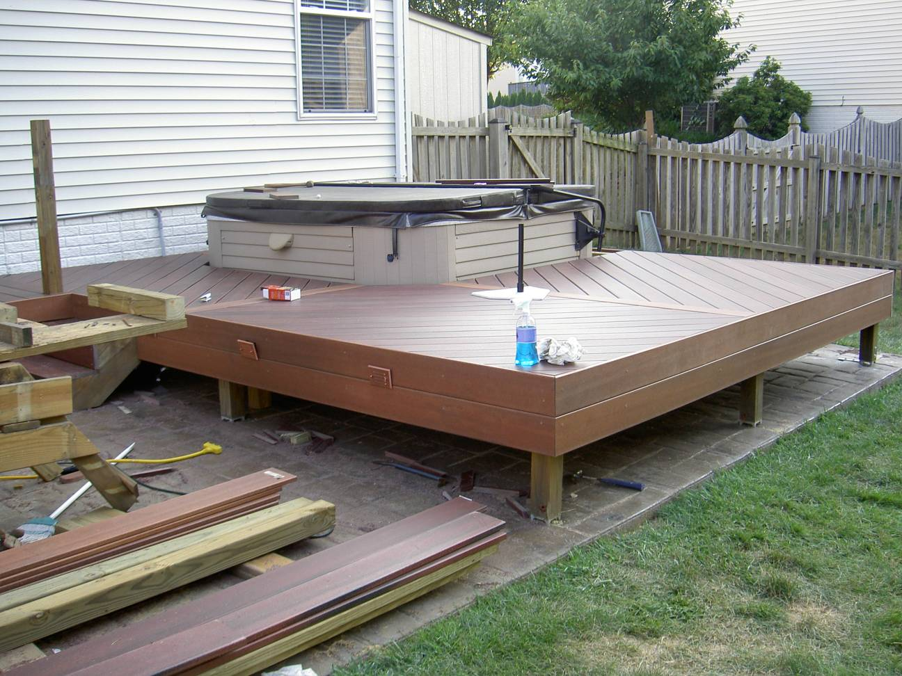 The ayrlee house deck remodeling project